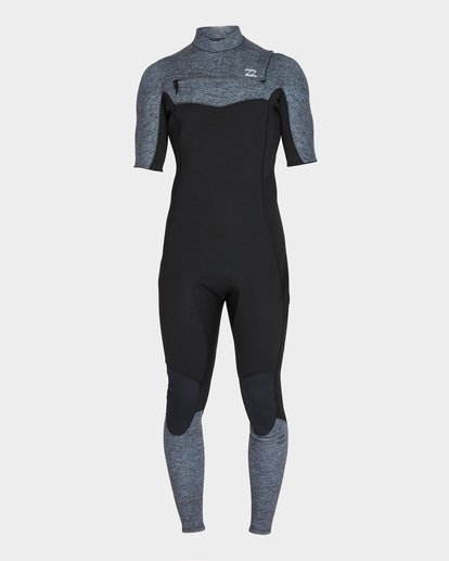 1 Furnace Absolute 202 Back Zip Full Suit Grey 9795618 Billabong