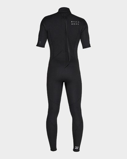 2 FURNACE ABSOLUTE 202 BACK ZIP FULL SUIT Black 9795619 Billabong