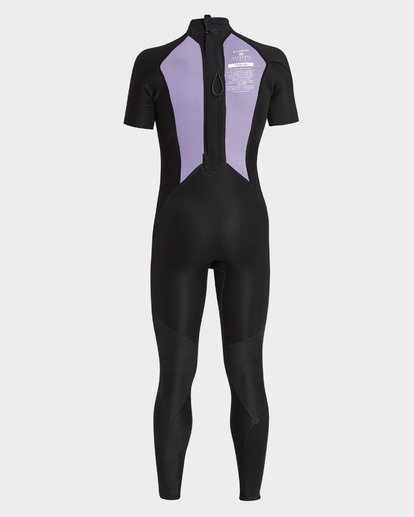 7 FURNACE ABSOLUTE 202 BACK ZIP FULL SUIT Black 9795619 Billabong