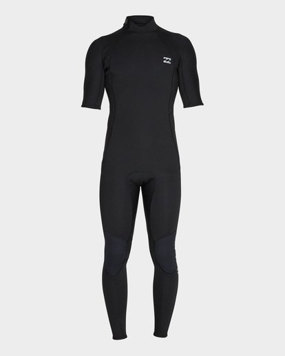 1 FURNACE ABSOLUTE 202 BACK ZIP FULL SUIT Black 9795619 Billabong