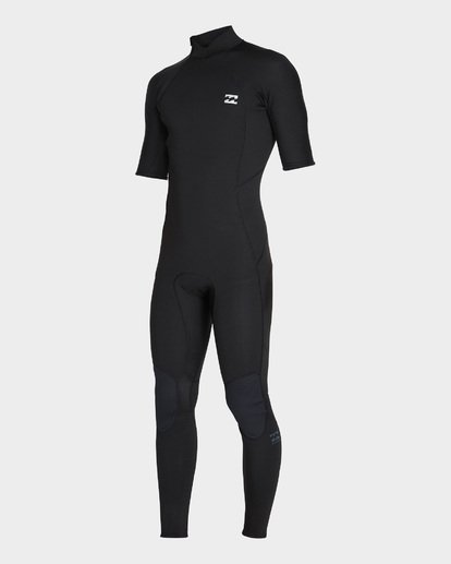 0 FURNACE ABSOLUTE 202 BACK ZIP FULL SUIT Black 9795619 Billabong