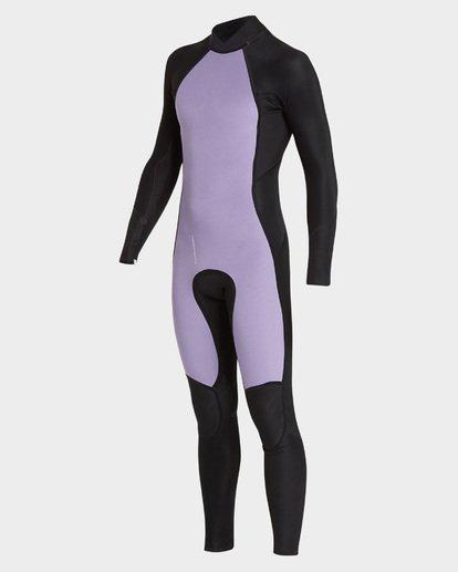 3 302 Absolute Flat Lock Back Zip Full Suit Grey 9795700 Billabong
