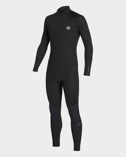 0 FURNACE ABSOLUTE 302 BACK ZIP FULL SUIT Black 9795810 Billabong