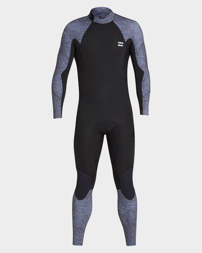 1 302 Furnace Absolute Back Zip Full Suit Grey 9795810 Billabong