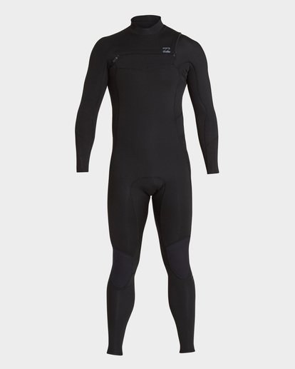 1 FURNACE ABSOLUTE 403 CHEST ZIP FULL SUIT Black 9795817 Billabong