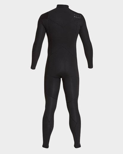 2 FURNACE ABSOLUTE 302 CHEST ZIP FULL SUIT Black 9795818 Billabong