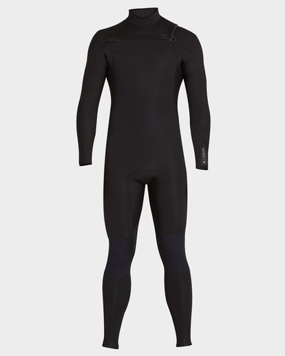 1 302 Furnace Revolution Chest Zip Full Suit Black 9795820 Billabong
