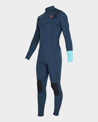 0 FURNACE REVOLUTION 302 CHEST ZIP FULL SUIT Blue 9795820 Billabong