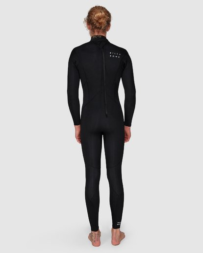 9 FURNACE REVOLUTION 302 CHEST ZIP FULL SUIT Black 9795820 Billabong