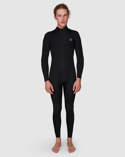 8 FURNACE REVOLUTION 302 CHEST ZIP FULL SUIT Black 9795820 Billabong