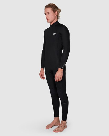 7 302 Furnace Revolution Chest Zip Full Suit Black 9795820 Billabong