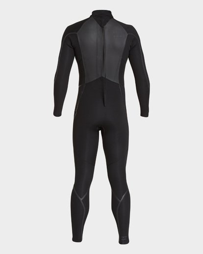 3 FURNACE ABSOLUTE 302 BACK ZIP FULL SUIT Black 9795823 Billabong