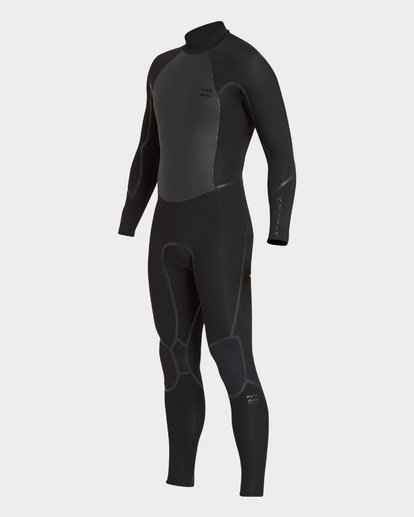 0 FURNACE ABSOLUTE 302 BACK ZIP FULL SUIT Black 9795823 Billabong