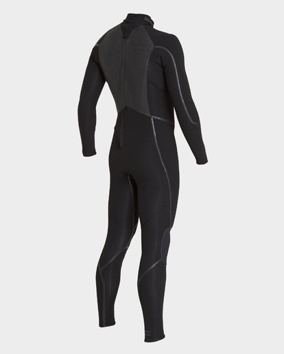 2 Furnace Absolute 302 Back Zip Full Suit Black 9795823 Billabong