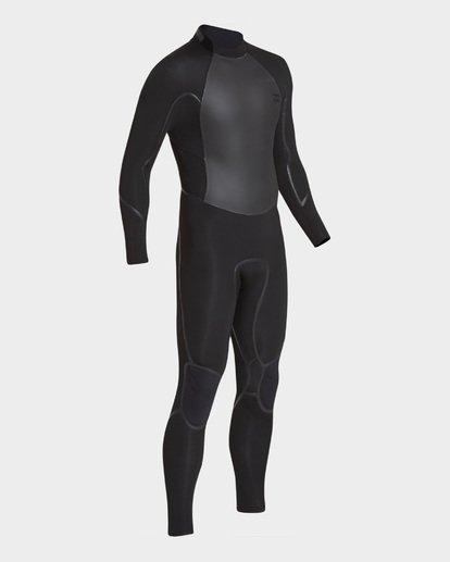1 Furnace Absolute 302 Back Zip Full Suit Black 9795823 Billabong