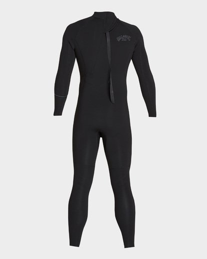 4 Furnace Revolution 302 Back Zip Full Suit Black 9795826 Billabong