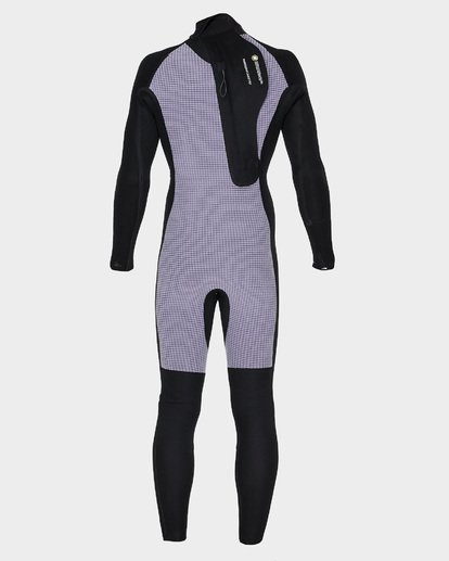 8 Furnace Revolution 302 Back Zip Full Suit Black 9795826 Billabong