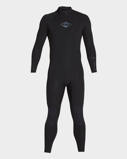 1 Furnace Revolution 302 Back Zip Full Suit Black 9795826 Billabong