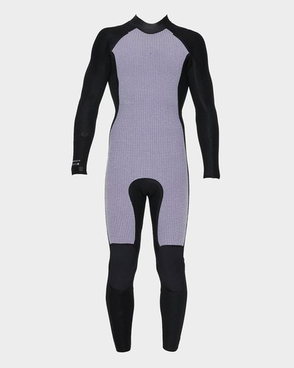 6 Furnace Revolution 302 Back Zip Full Suit Black 9795826 Billabong