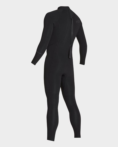 0 Furnace Revolution 302 Back Zip Full Suit Black 9795826 Billabong