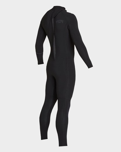 3 Furnace Revolution 302 Back Zip Full Suit Black 9795826 Billabong