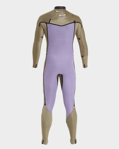 7 FURNACE REVOLUTION 403 CHEST ZIP FULL SUIT Black 9795828 Billabong