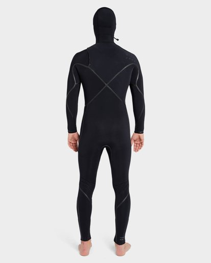 2 Furnace Carbon 504 Chest Zip Full Suit Black 9795896 Billabong