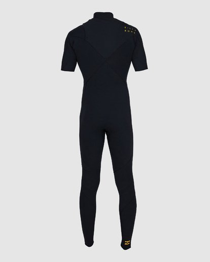 2 202 PRO SERIES SHORT SLEEVE GBS FULLSUIT Black 9795902 Billabong