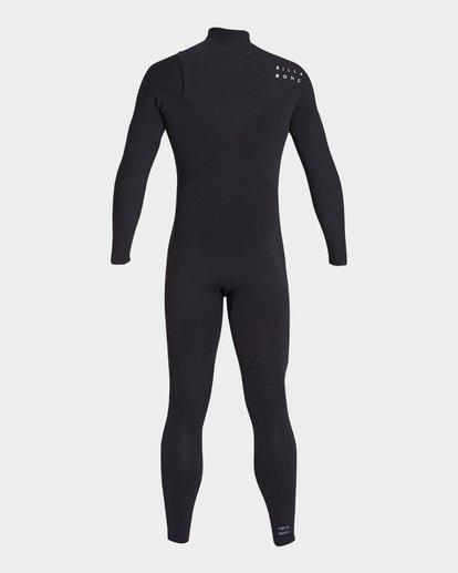 3 403 Pro Series Chest Zip Full Suit Black 9795904 Billabong
