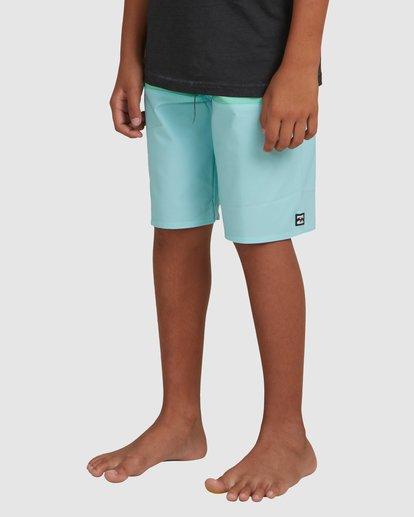 5 Boys 8-16 Tribong Pro Boardshorts Blue ABBBS00101 Billabong