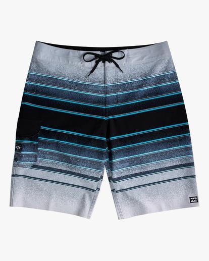 0 Boys 8-16 All Day Stripe Pro Boardshorts Grey ABBBS00105 Billabong