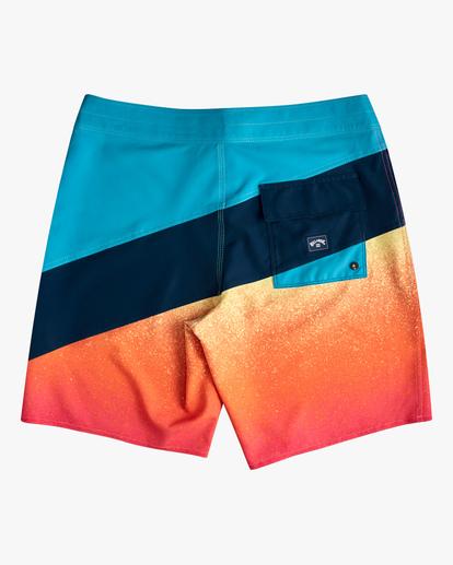 "1 Boys' T Street Pro Boardshorts 17"" Red ABBBS00108 Billabong"