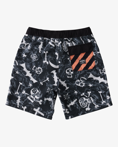 2 Boy's Bad Billys Layback Boardshort Blue ABBBS00112 Billabong