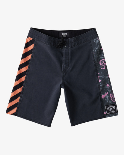 "1 Boy's Bad Billy D Bah Boardshort 17"" Black ABBBS00113 Billabong"