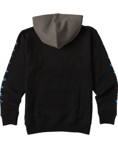 1 Boys' United Pullover Hoodie Black ABBFT00101 Billabong