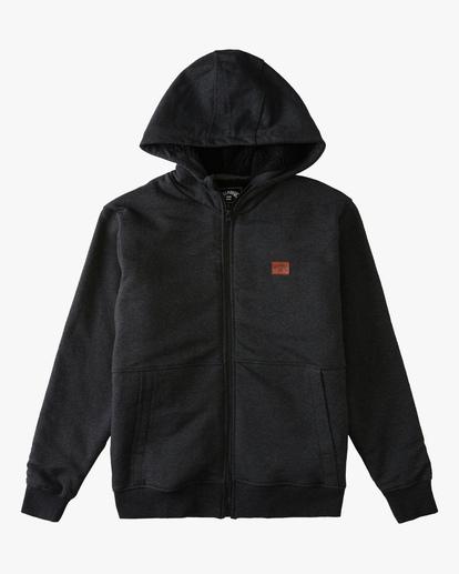 0 Boys' Hudson Sherpa Zip-Up Hoodie  ABBFT00110 Billabong