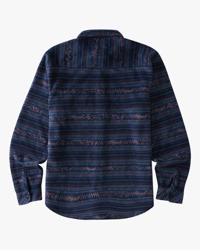 1 Boys' Furnace Flannel Shirt Blue ABBFT00112 Billabong