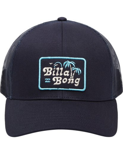 1 Boys' Walled Trucker Cap Blue ABBHA00100 Billabong