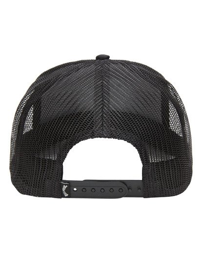 2 Boys' Stacked Trucker Cap Black ABBHA00106 Billabong