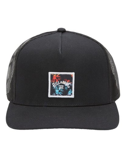 1 Boys' Stacked Trucker Cap Black ABBHA00106 Billabong
