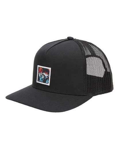 0 Boys' Stacked Trucker Cap Black ABBHA00106 Billabong