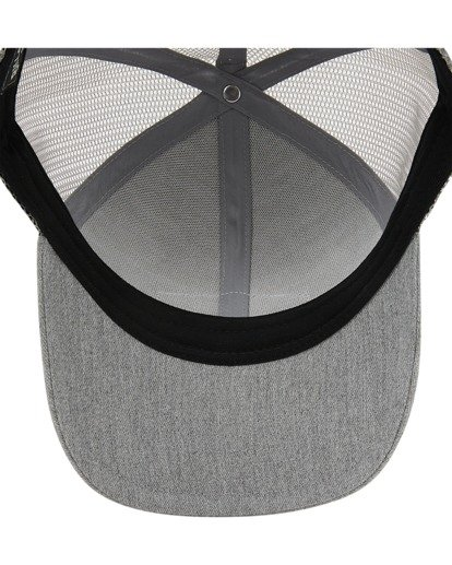 3 Boys' Walled Trucker Hat Grey ABBHA00116 Billabong
