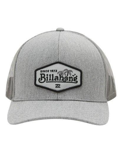 1 Boys' Walled Trucker Hat Grey ABBHA00116 Billabong