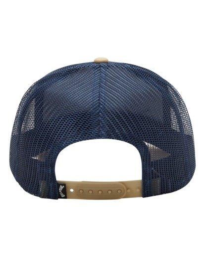 3 Boys' Stacked Trucker Hat Blue ABBHA00117 Billabong