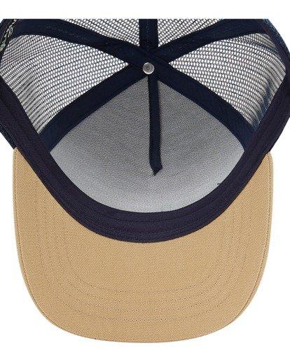 4 Boys' Stacked Trucker Hat Blue ABBHA00117 Billabong
