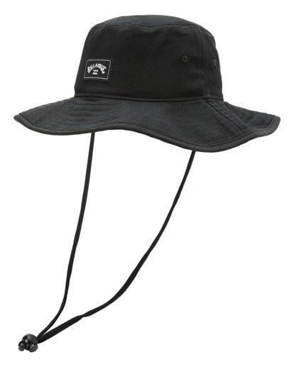 0 Boys' Big John Surf Safari Hat Black ABBHA00119 Billabong