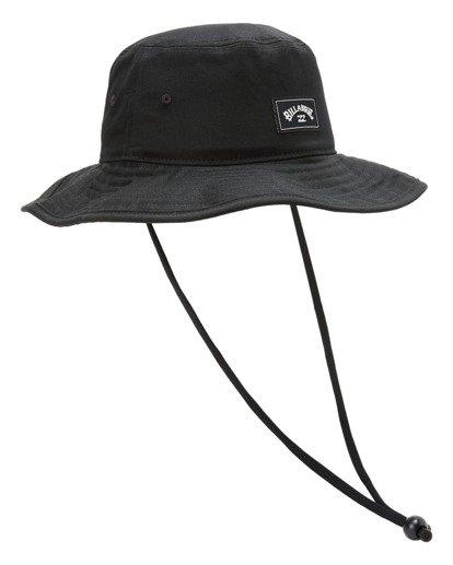 2 Boys' Big John Surf Safari Hat Black ABBHA00119 Billabong