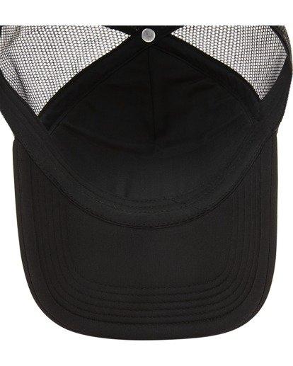 4 Boys' Podium Trucker Hat Black ABBHA00121 Billabong
