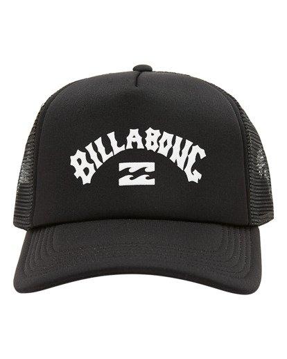 1 Boys' Podium Trucker Hat Black ABBHA00121 Billabong