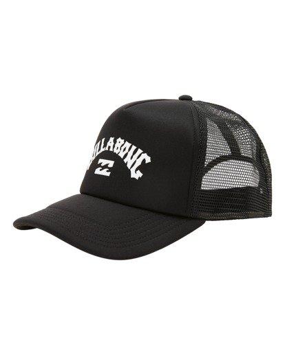 0 Boys' Podium Trucker Hat Black ABBHA00121 Billabong